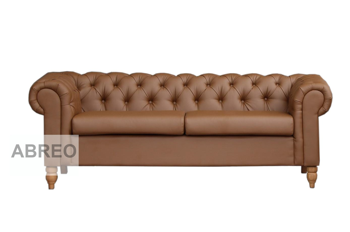 3 Seat Chesterfield Tan Brown Canterbury Chesterfield Sofas  ~ Chesterfield Brown Sofa
