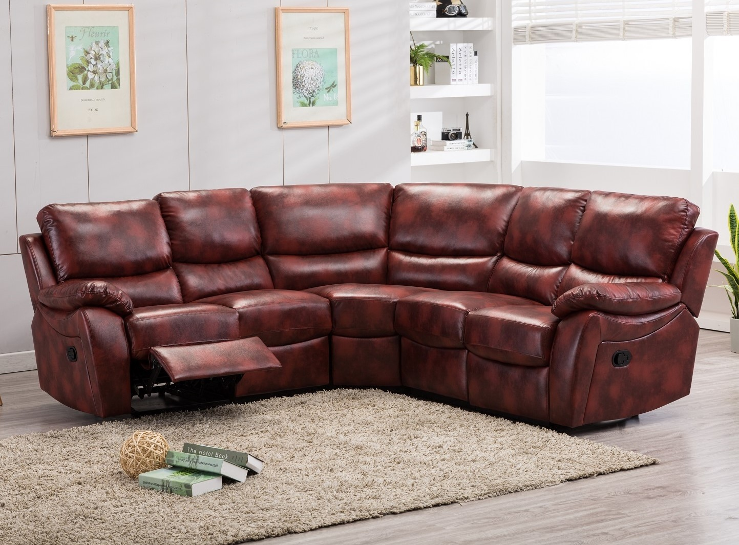 Ludlow Reclining Corner Sofa Abreo Home Furniture