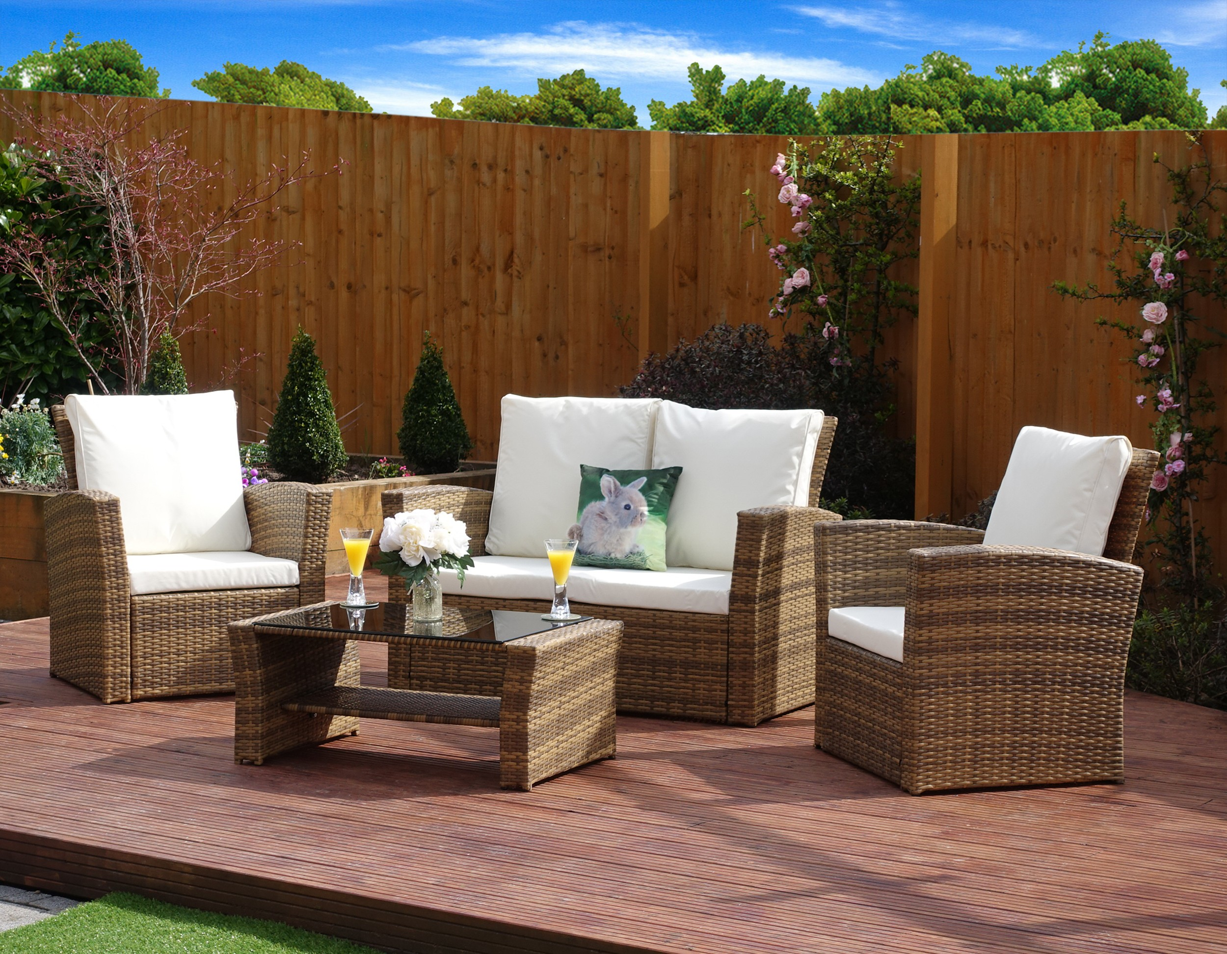 Brown Garden Furniture