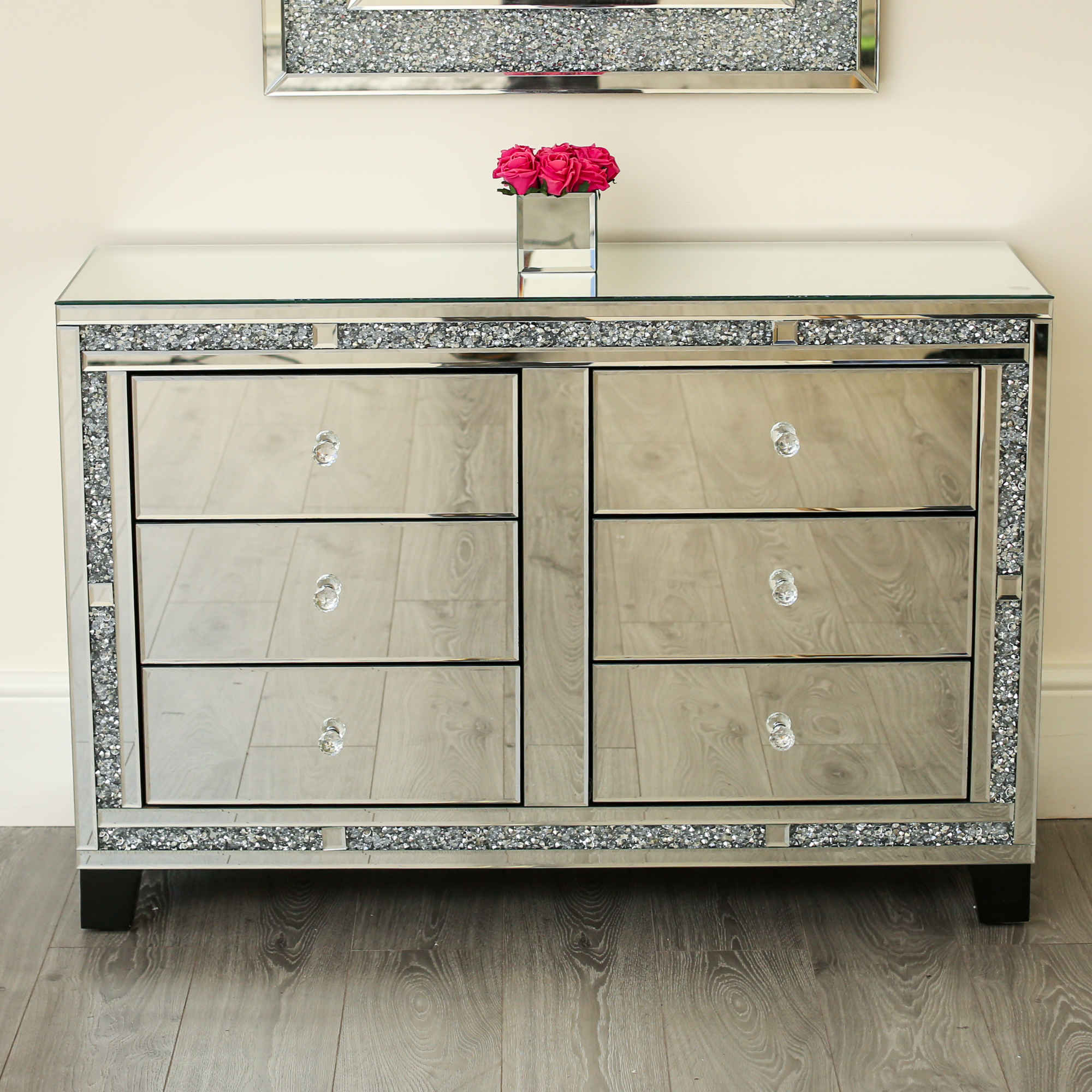 Diamond Crushchest Of Draws Sideboard Abreo Abreo Home
