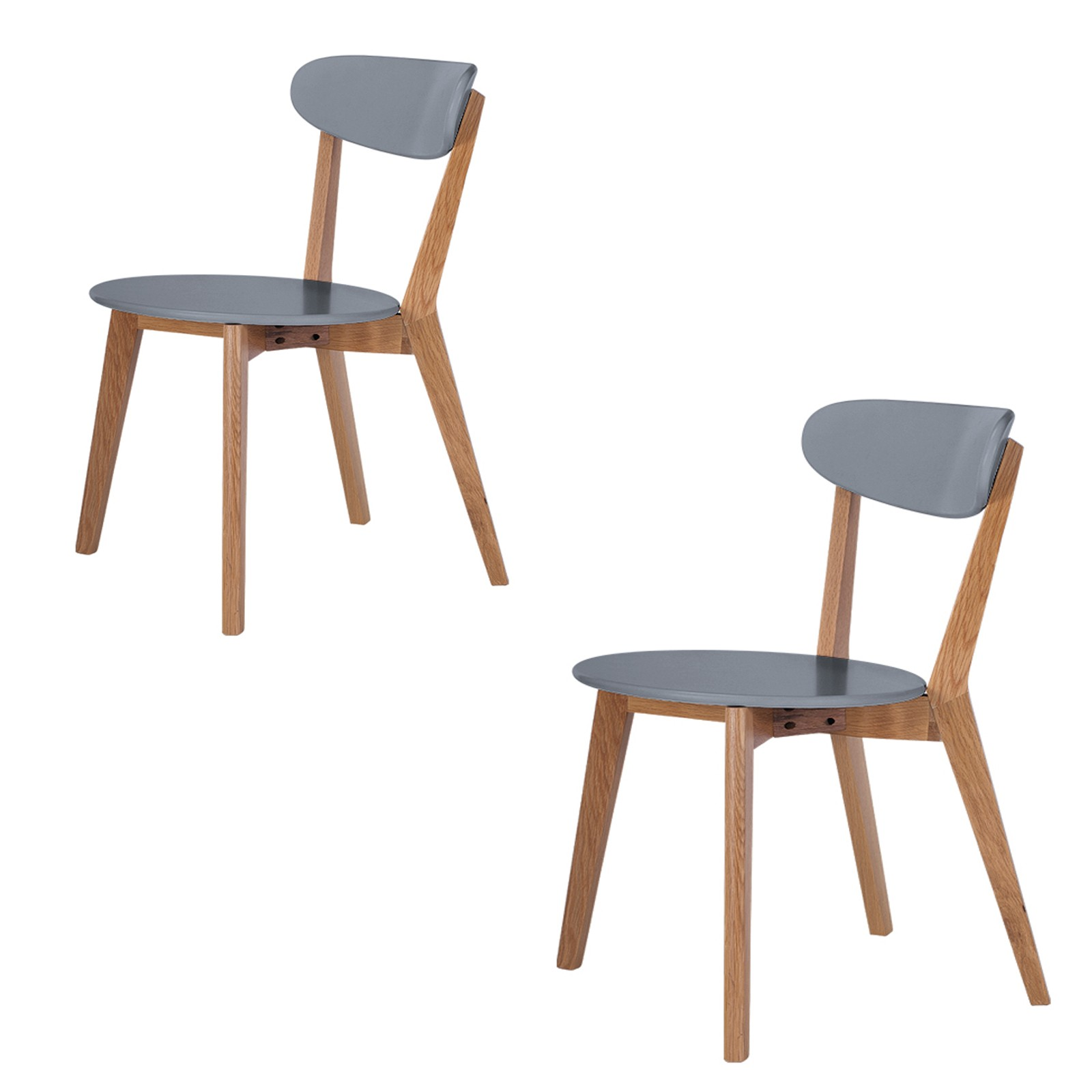Scandinavian style dining chairs abreo home furniture - Scandinavian chair ...