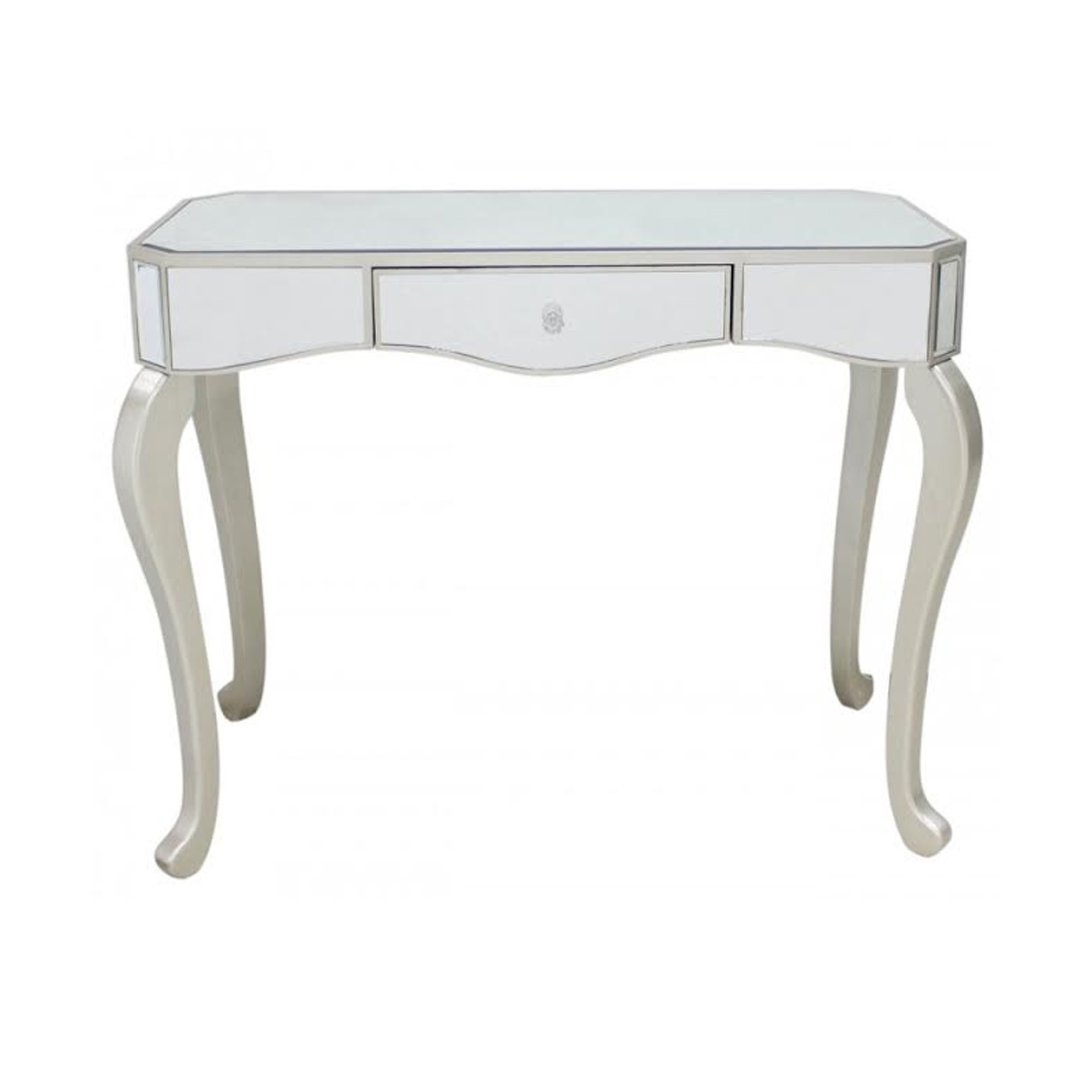 mirror console table. Mirrored Console Table Mirror