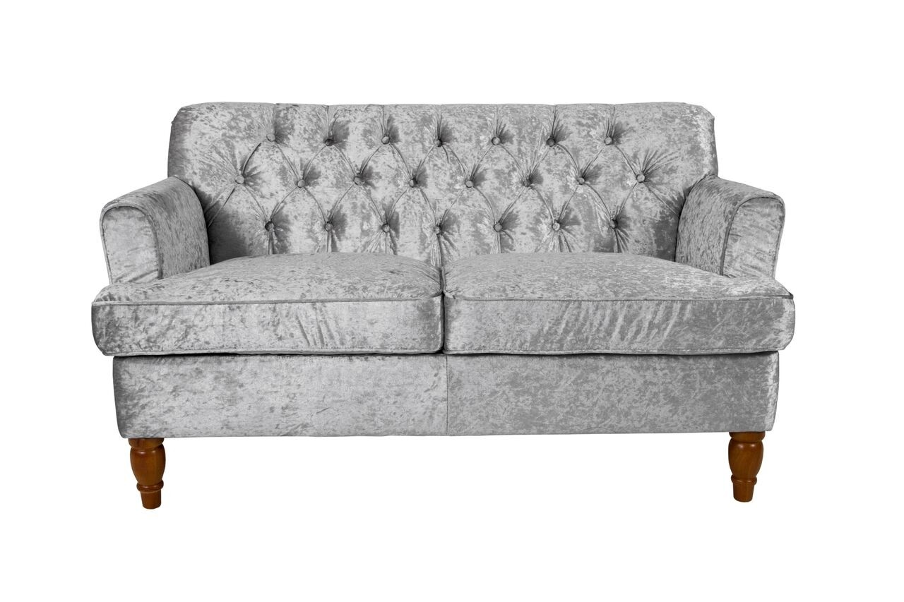 Mayfair Crushed Velvet Sofa Collection Fabric Sofas