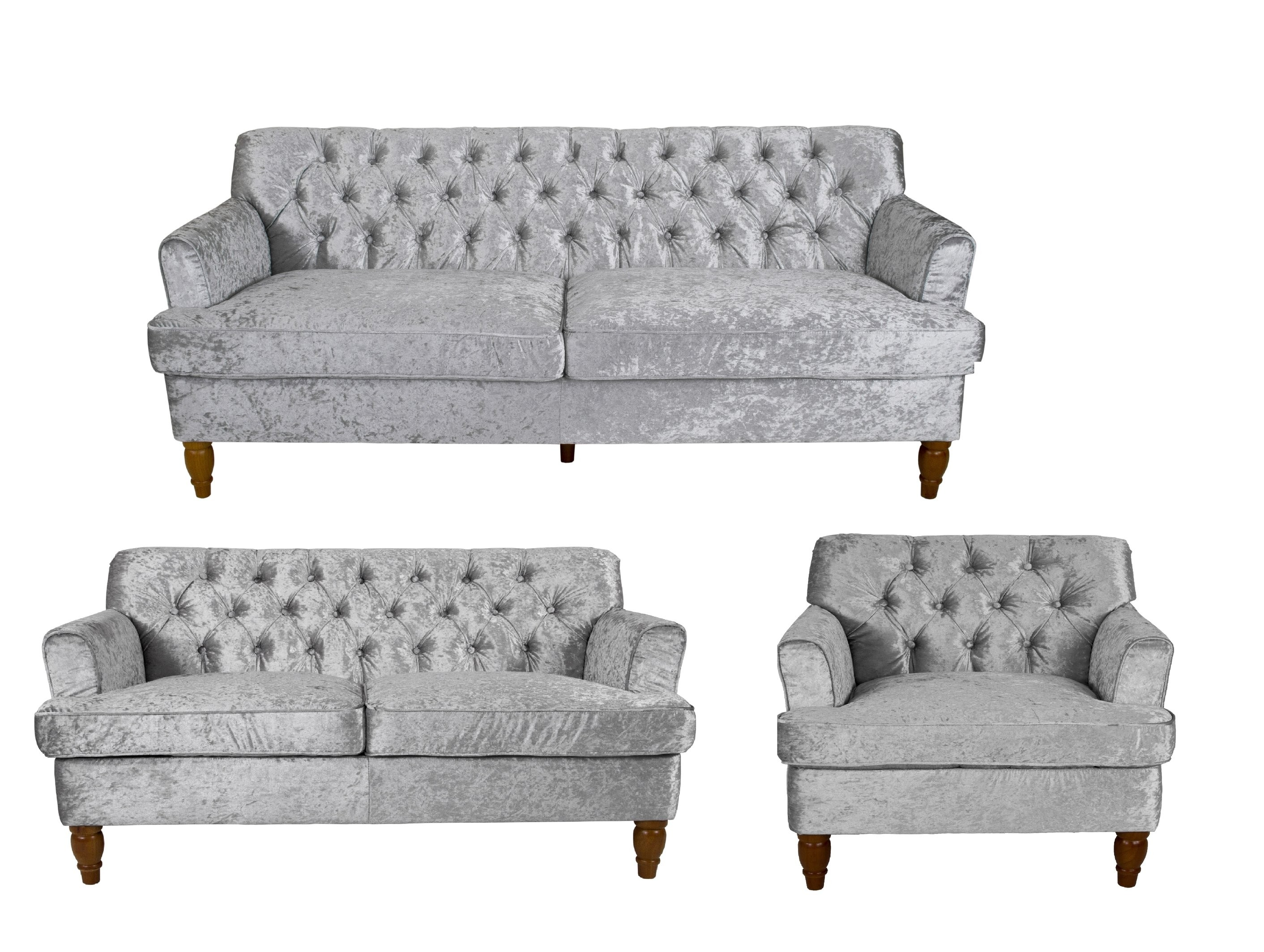 Incroyable Mayfair Crushed Velvet Sofa Collection
