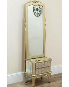 Sophia Cheval Mirror with Drawer Storage