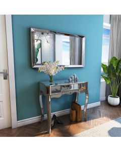 Sophia mirrored dressing table console