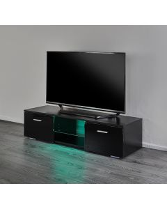 LED TV stand with storage