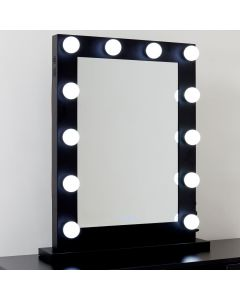 Blanchett Hollywood Mirror in Black