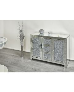 Diamond Crush Sideboard / Dresser