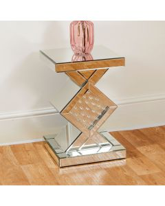 Floating Crystal Side Table