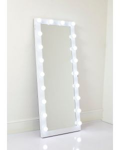 Garland Hollywood Full Length Mirror in White
