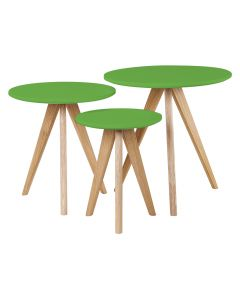 Green Nest of Tables