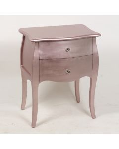 Louisa Rose Gold 2 Drawers Chest