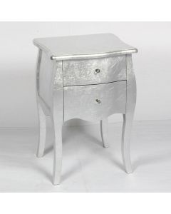 silver 2 drawers