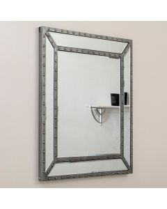 Studded Mirror Wall Mirror