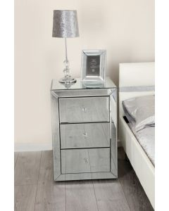 Venetian Mirror Bedside Table