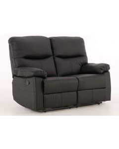 Capri Black 2 Seat Recliner