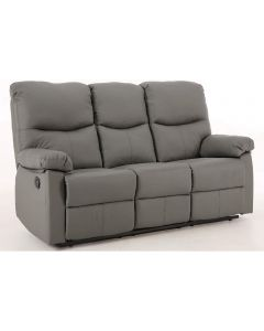 Capri Grey 3 Seat Recliner