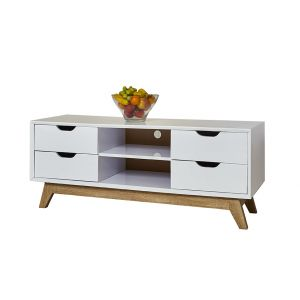 High Gloss Scandi Stand 120cm