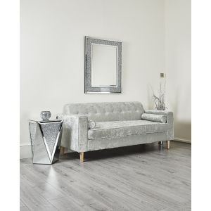 Silver Leaf Sofa - Living Room Couch