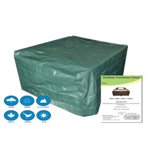 Rattan garden furniture cover