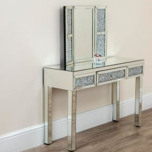 Diamond Crush Dressing Table Set